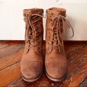Rustic Ankle Booties